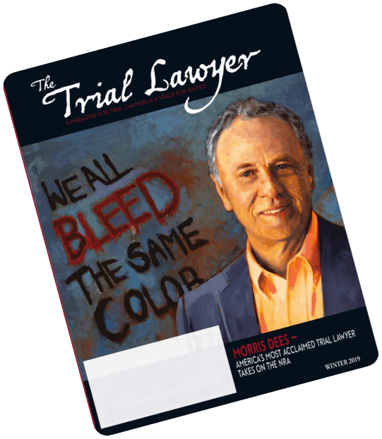 Trial Lawyer Magazine Winter 2019 Cover