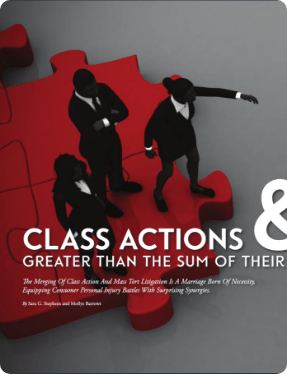 Class Actions Magazine page