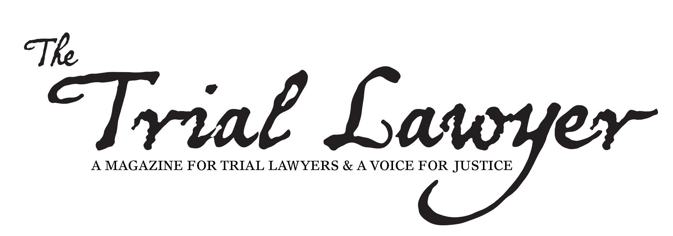 The Trial Lawyer Magazine Logo