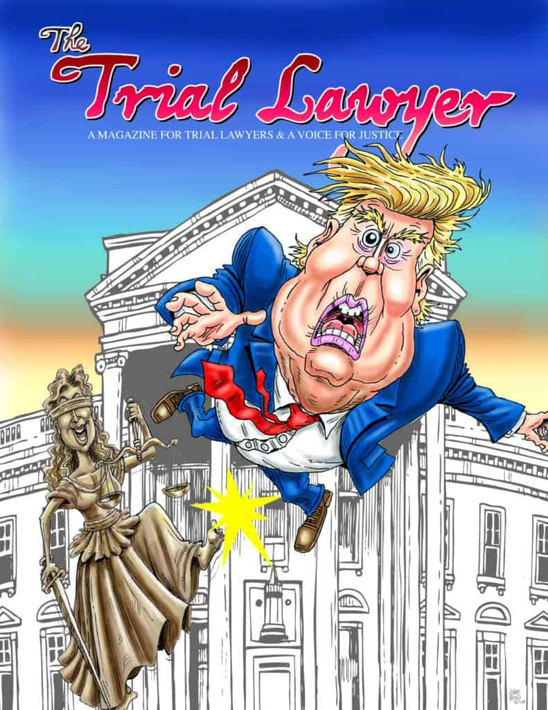 Trial Lawyer Magazine Fall 2020 Cover