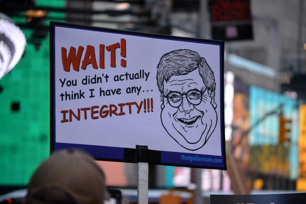 William Barr's Abuses Of Power Cannot Be Ignored