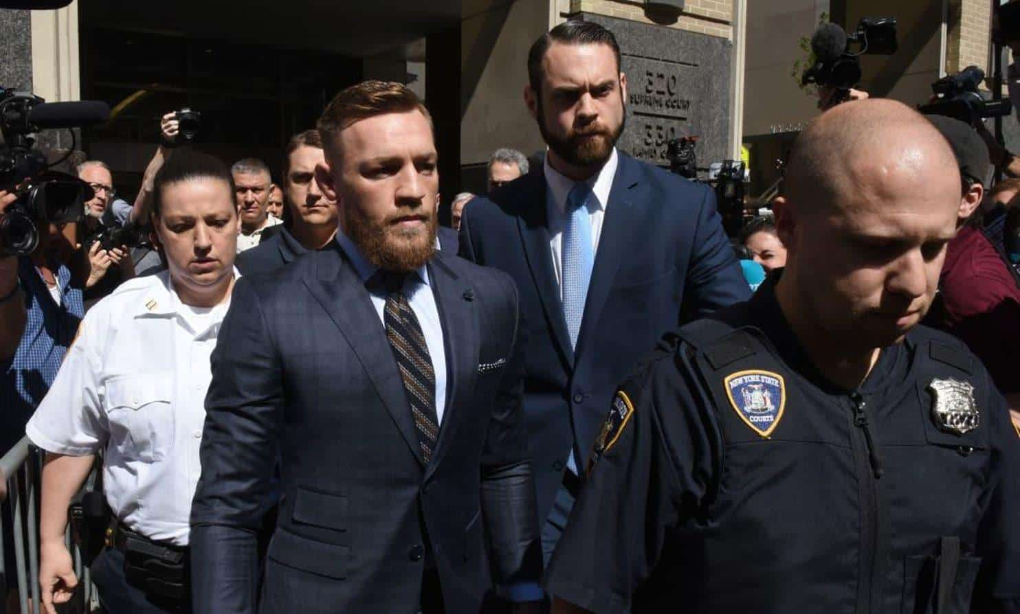 Conor McGregor sued by UFC fighter injured in bus attack