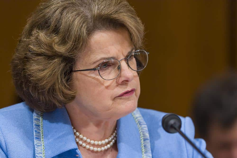 Feinstein Stepping Down as Top Democrat on Judiciary Committee