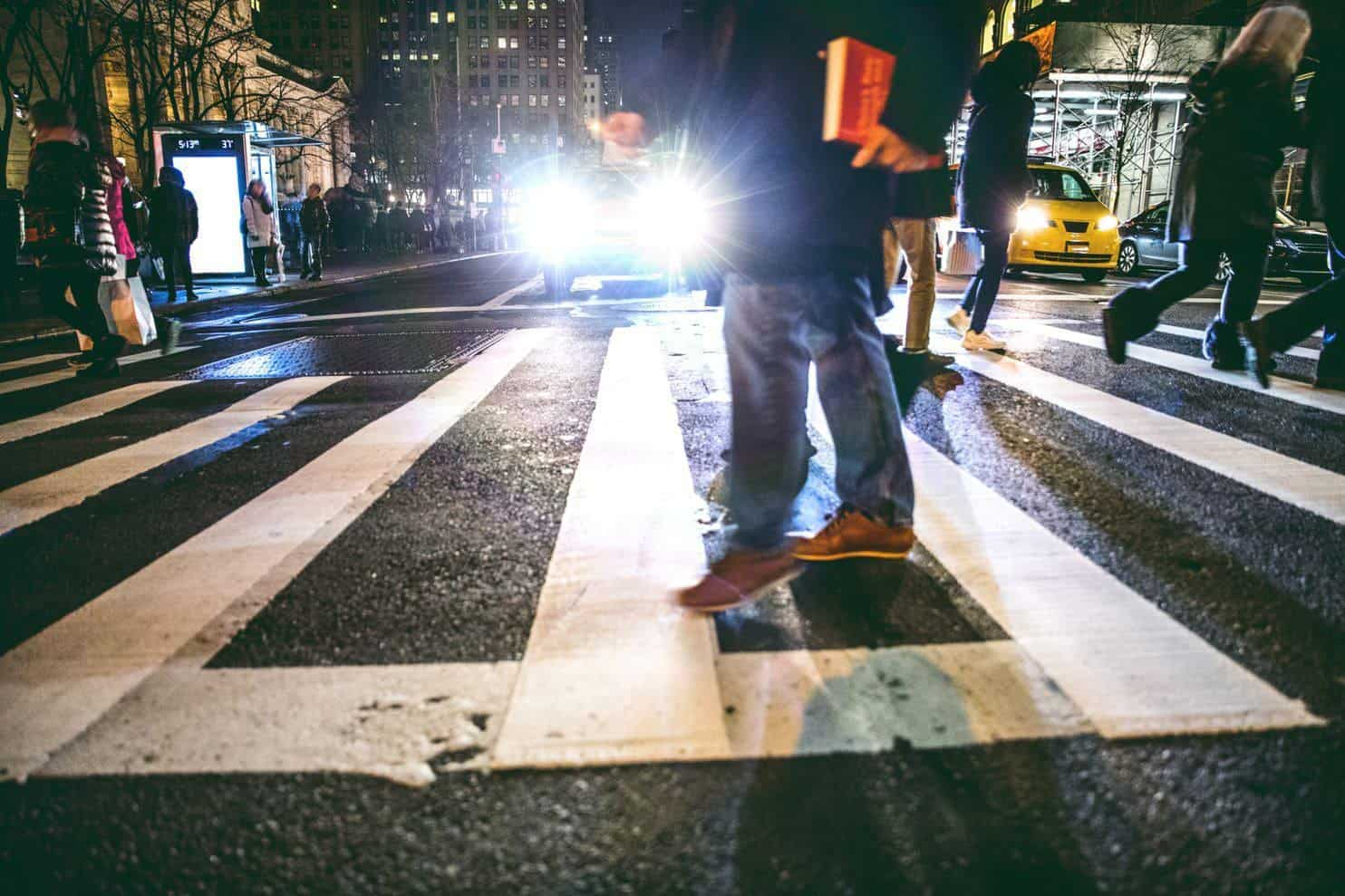 Thousands of inebriated pedestrians die each year in traffic accidents