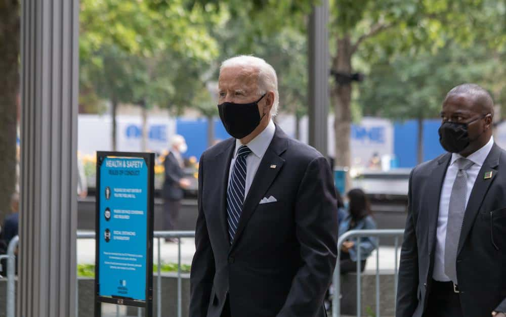 Biden's First Act as President is 100 Days of Mask-Wearing