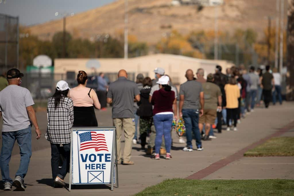 Voter Turnout Soared In 2020 Thanks To Flexible Options